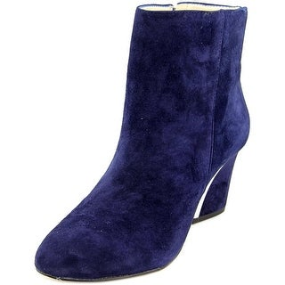 INC International Concepts Harpp Round Toe Suede Ankle Boot