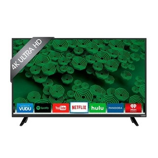 """VIZIO D50U-D1 50"""" UHD 4K 120Hz LED Smart TV Built-in WiFi w/ Netflix / Hulu Apps Refurbished"""
