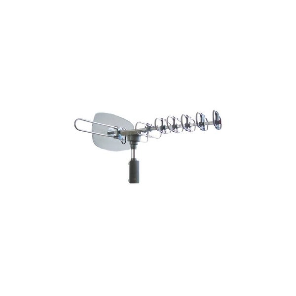 Naxa NAXNAA351S NAXA Electronics NAA-351 High Powered Amplified Motorized Outdoor Antenna for ATSC and HDTV