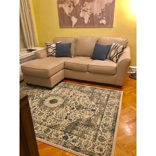 Safavieh Evoke Vintage Oriental Grey / Ivory Distressed Rug (5'1 x 7'6)