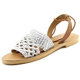 Kenneth Cole Reaction Zoom Out Open-Toe Leather Slingback Sandal