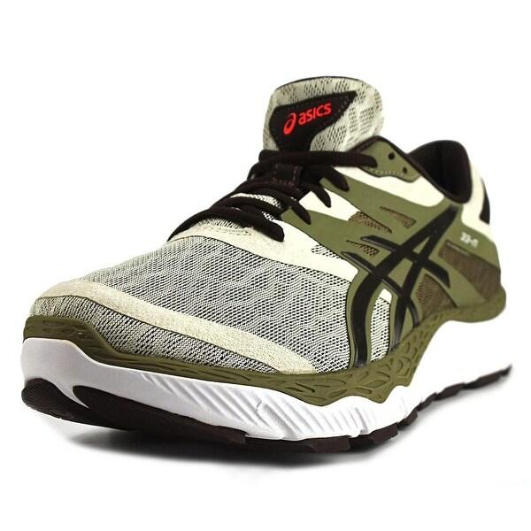 Asics 33-M Men Round Toe Synthetic Green Running Shoe