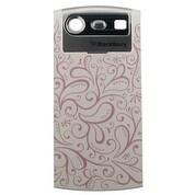 BlackBerry 8110 8120 8130 Pearl Standard Battery Door - Floral
