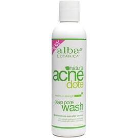 Alba Botanica Natural Acnedote Deep Pore Wash, 6 oz