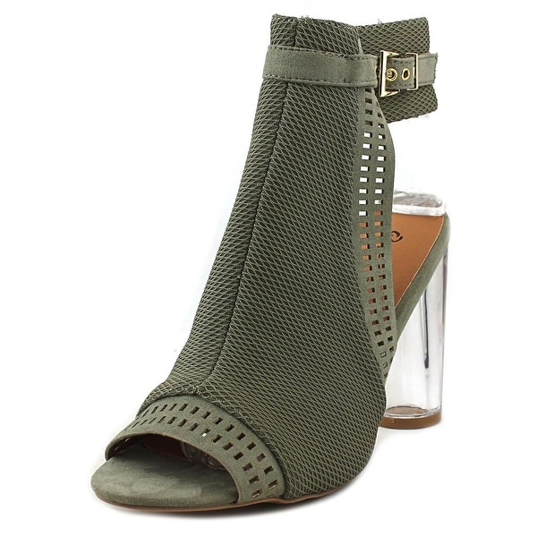 Qupid Gilmore-11 Khaki Pumps