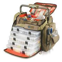 Wild River Tackle Tek Frontier Lighted Tackle Bag 5 Trays - WT3702