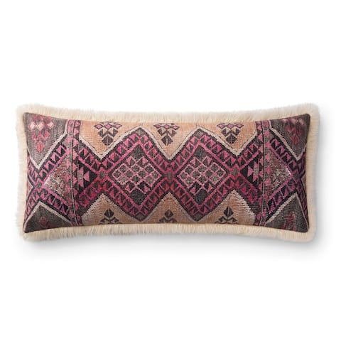 Alexander home Layla Grace Boho Faux Fur Pillow