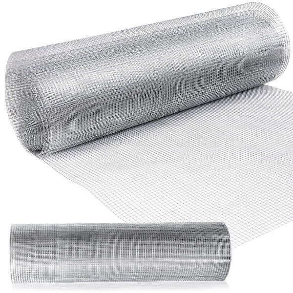 shop costway 48 x 50 1 2inch wire fence mesh cage roll garden 19