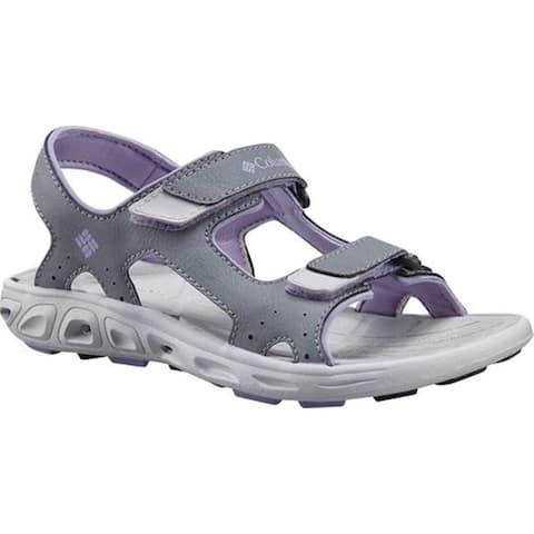 Columbia Children's Techsun Vent Sandal Tradewinds Grey/White Violet