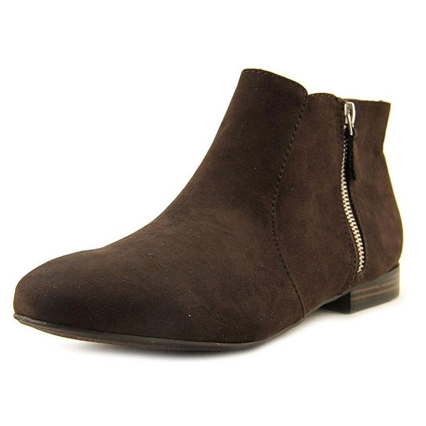 New Directions Womens Tiburon Round Toe Ankle Fashion Boots