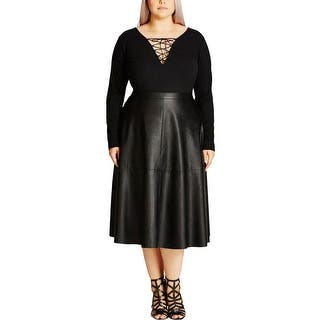 City Chic Womens Plus A-Line Skirt Pleather Mid-Calf https://ak1.ostkcdn.com/images/products/is/images/direct/c6befed8e89f0ba4a161c62016758655bb9bba36/City-Chic-Womens-Plus-A-Line-Skirt-Faux-Leather-Mid-Calf.jpg?impolicy=medium