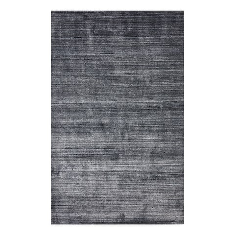 Harbor Contemporary Solid Hand Loomed Area Rug