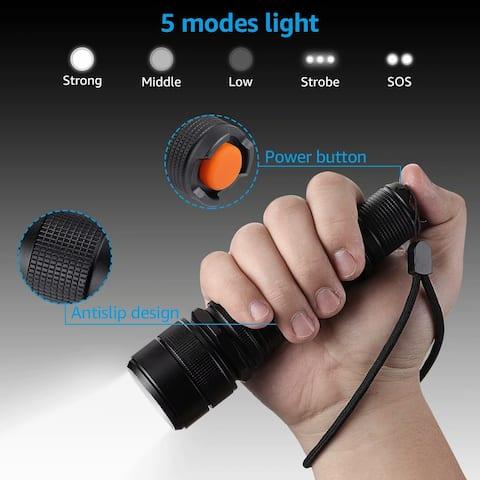 Outdoor Portable LED Strategic Flashlight