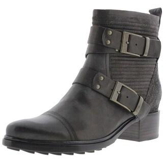 Rachel Zoe Womens Pierre Leather Ankle Riding Boots - 9.5 medium (b,m)