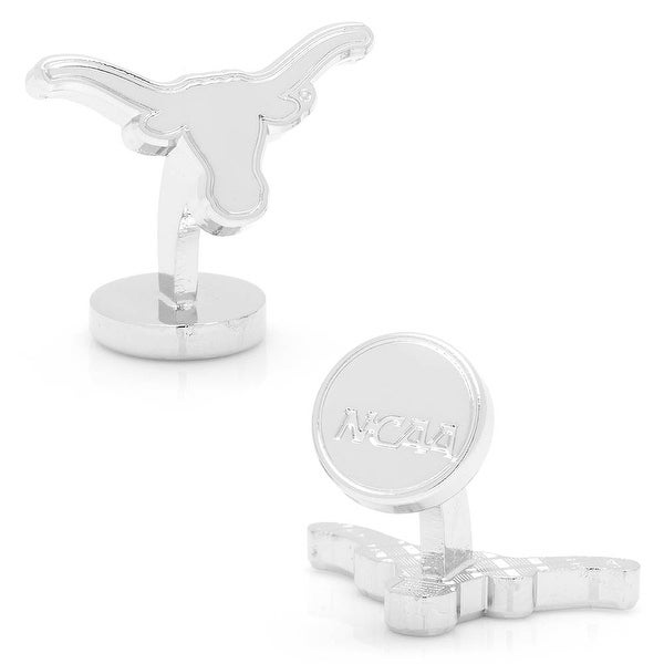 Silver Edition University of Texas Longhorns Cufflinks