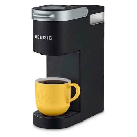Keurig K-Mini Single Serve K-Cup Pod Coffee Maker (Black) with 5 Cups