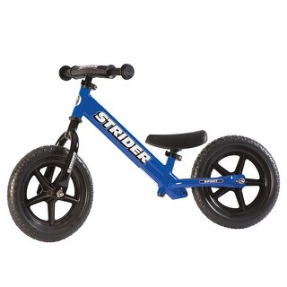 Strider - 12 Sport Balance Bike, Ages 18 Months to 5 Years - Blue