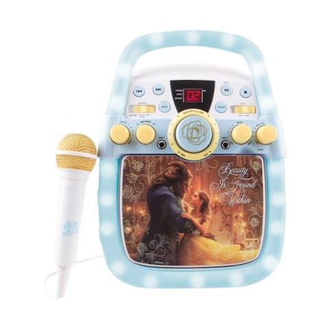 Disney Beauty and the Beast Enchanted Light Karaoke System