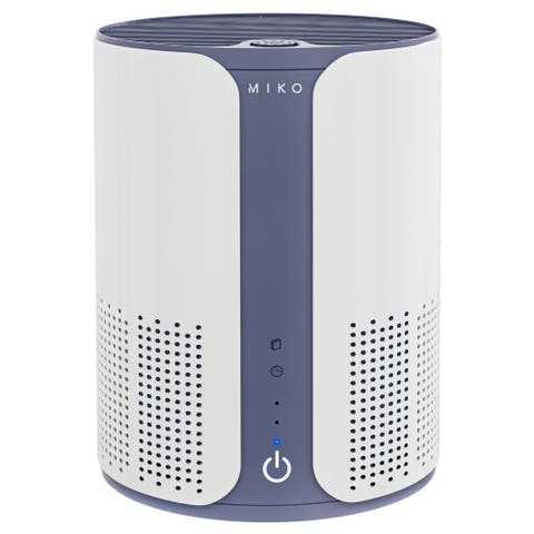 Miko Air Purifier for Home Air Filtration Efficiency, Multiple Speeds, Quiet, H11 True HEPA Filter, 400 Sq ft Room Capacity