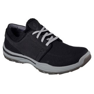 Skechers 65027 BLK Men's ELMENT-VENTON Oxford