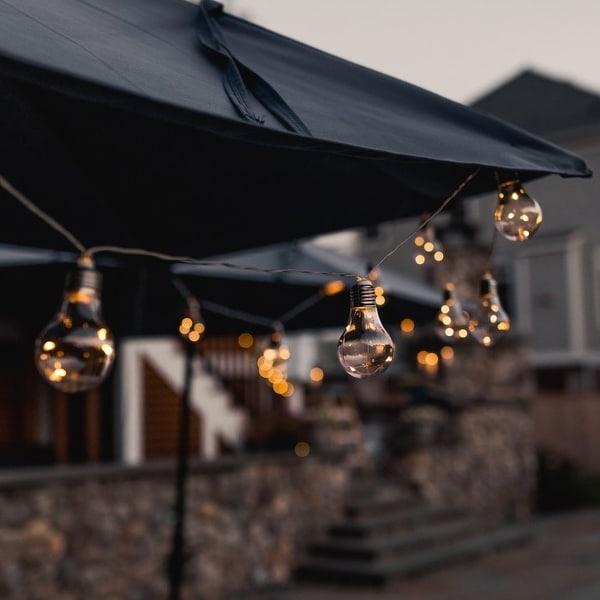 Shop Early Edison Solar Powered LED String Light Bulbs