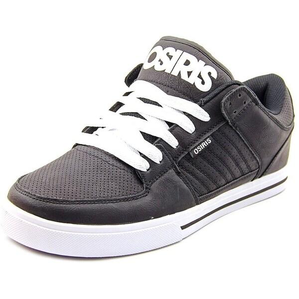 Osiris Protocol Men Black/White/Black Skateboarding Shoes