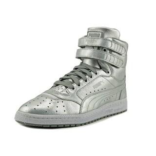 Puma Sky II Hi Holo Jr Round Toe Leather Sneakers