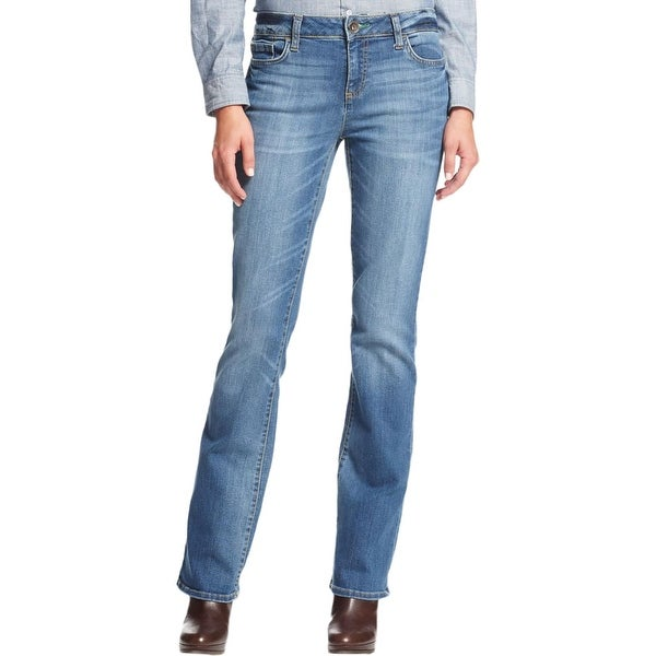 a6808e081 Shop Tommy Hilfiger Womens Bootcut Jeans Denim Mid-Rise - Free ...