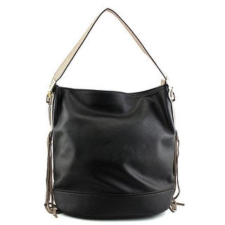 MG Collection Janna Tassel Slouchy Women  Synthetic Black Tote