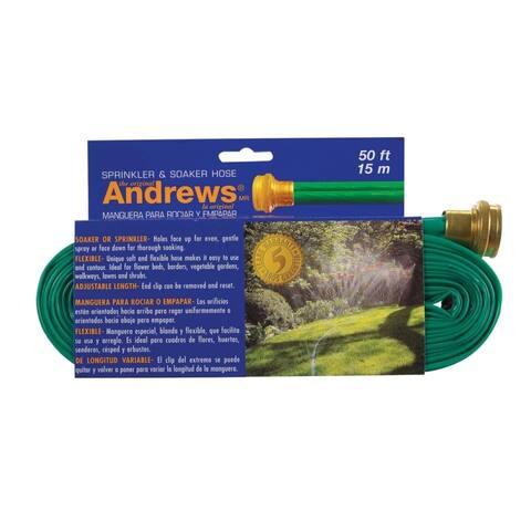 Andrews 10-12348 Sprinkler Hose, 50', Vinyl