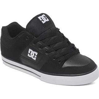 DC Shoes Men s Pure Skate Shoe Black Black White 795d17a71b17a