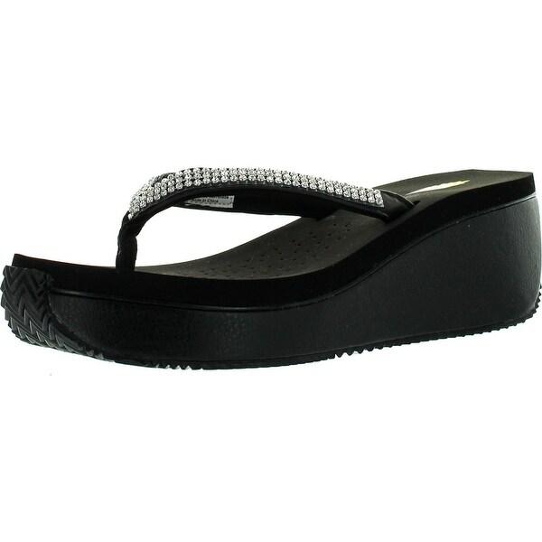 Volatile Womens Corrine Thong Sandals - Brown - 9 b(m) us