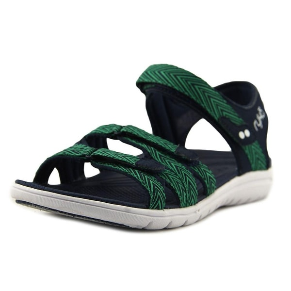 Ryka Savannah Navy/Green Sandals
