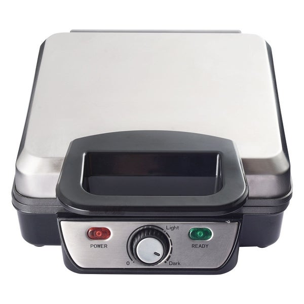 Gymax 4PC Square Waffle Maker Non-stick Baking Grids Breakfast - as pic