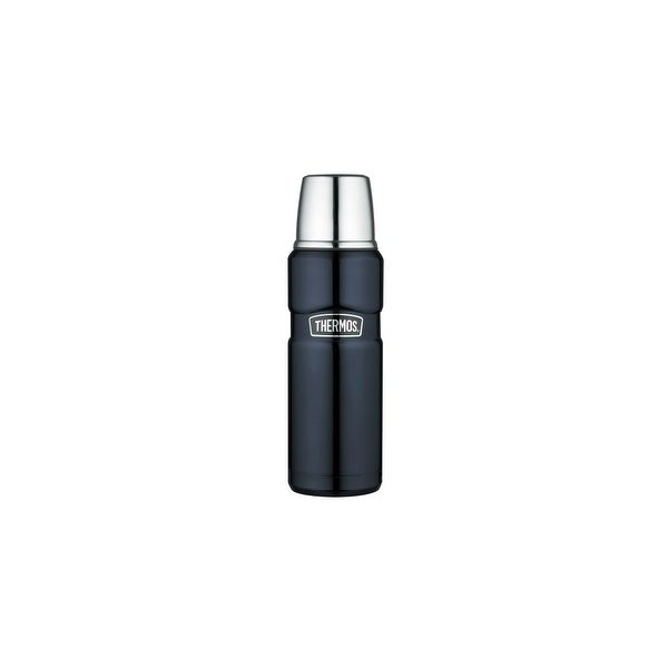 Thermos Vacuum Insulated Beverage Bottle - Midnight Blue Vacuum Insulated Hydration Bottle