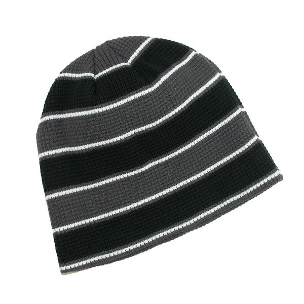 CTM® Men's Waffle Knit Winter Skull Beanie Cap