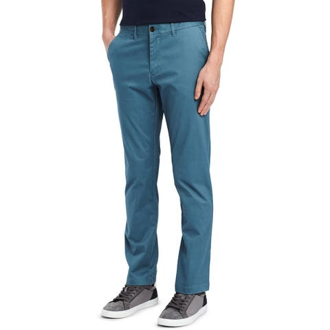 Tommy Hilfiger Mens Chino Pants Stretch Custom Fit
