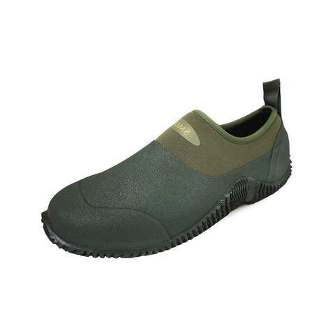 Smoky Mountain Outdoor Shoes Boys Amphibian Slip On Green