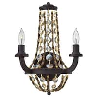 Fredrick Ramond FR42862 2 Light Wall Sconce from the Hamlet collection