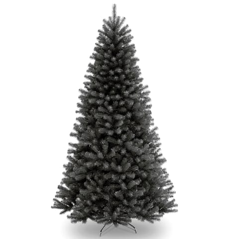 7.5 North Valley Black Spruce Artificial Christmas Tree  Unlit - 7.5 Foot