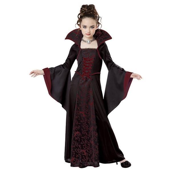 Shop Girls Royal Vampire Halloween Costume Overstock 14672305