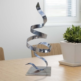 Statements2000 Metal Art Accent Sculpture Centerpiece Table Decor by Jon Allen - Perfect Moment