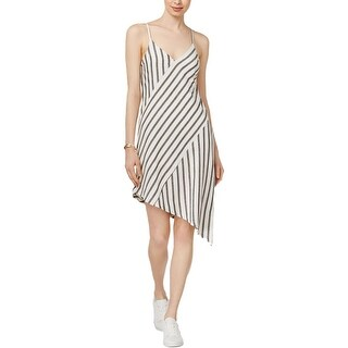 Minkpink Womens Casual Dress Linen Asymmetrical