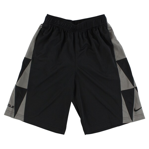 fd9888397cd4 Shop Nike Boys LeBron James Essential Basketball Shorts Black - Black Grey  - Free Shipping On Orders Over  45 - Overstock - 22693917
