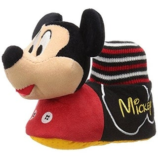 Disney Boys Mickey Mouse Colorblock Mickey Slippers
