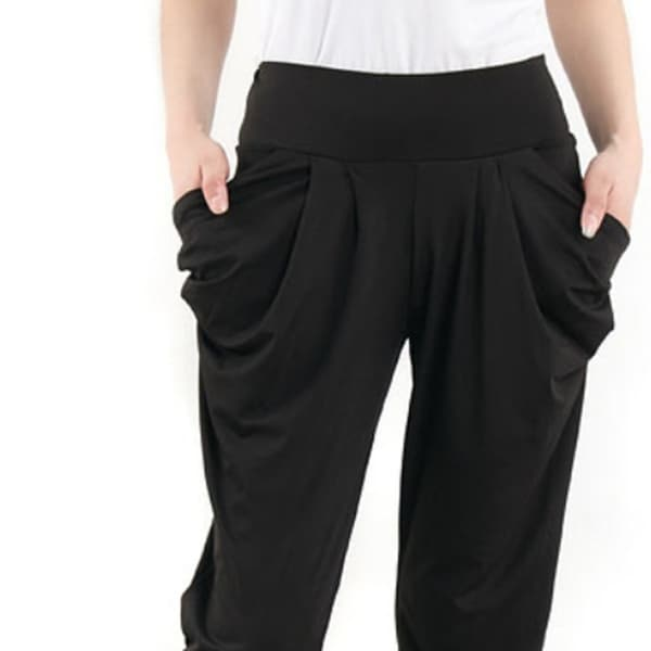 248c9ce3c6b82 Shop Women's Harem Pants Small Black - Free Shipping On Orders Over ...