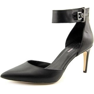 BCBGeneration Zaza Pointed Toe Leather Heels