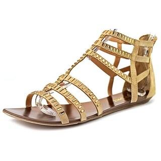 Report Layshia Women Open Toe Synthetic Brown Gladiator Sandal