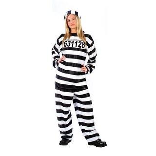 Jailhouse Honey Womens Adult Halloween Costume - standard (6-14)