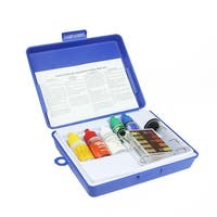 5-Piece Swimming Pool Test Kit with Tester Block and Case